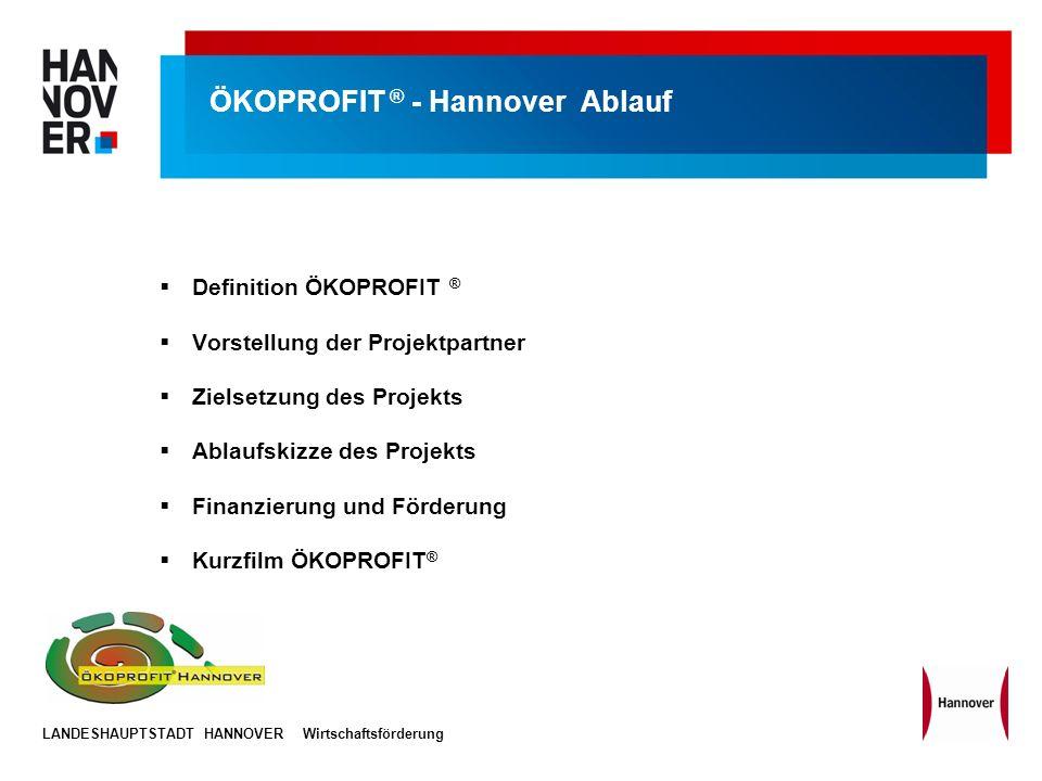 ÖKOPROFIT ® - Hannover Ablauf
