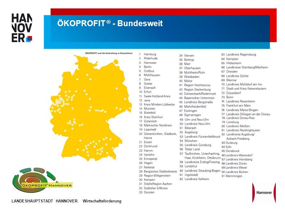 ÖKOPROFIT ® - Bundesweit