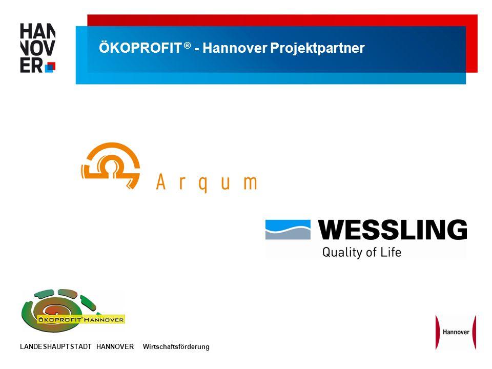 ÖKOPROFIT ® - Hannover Projektpartner