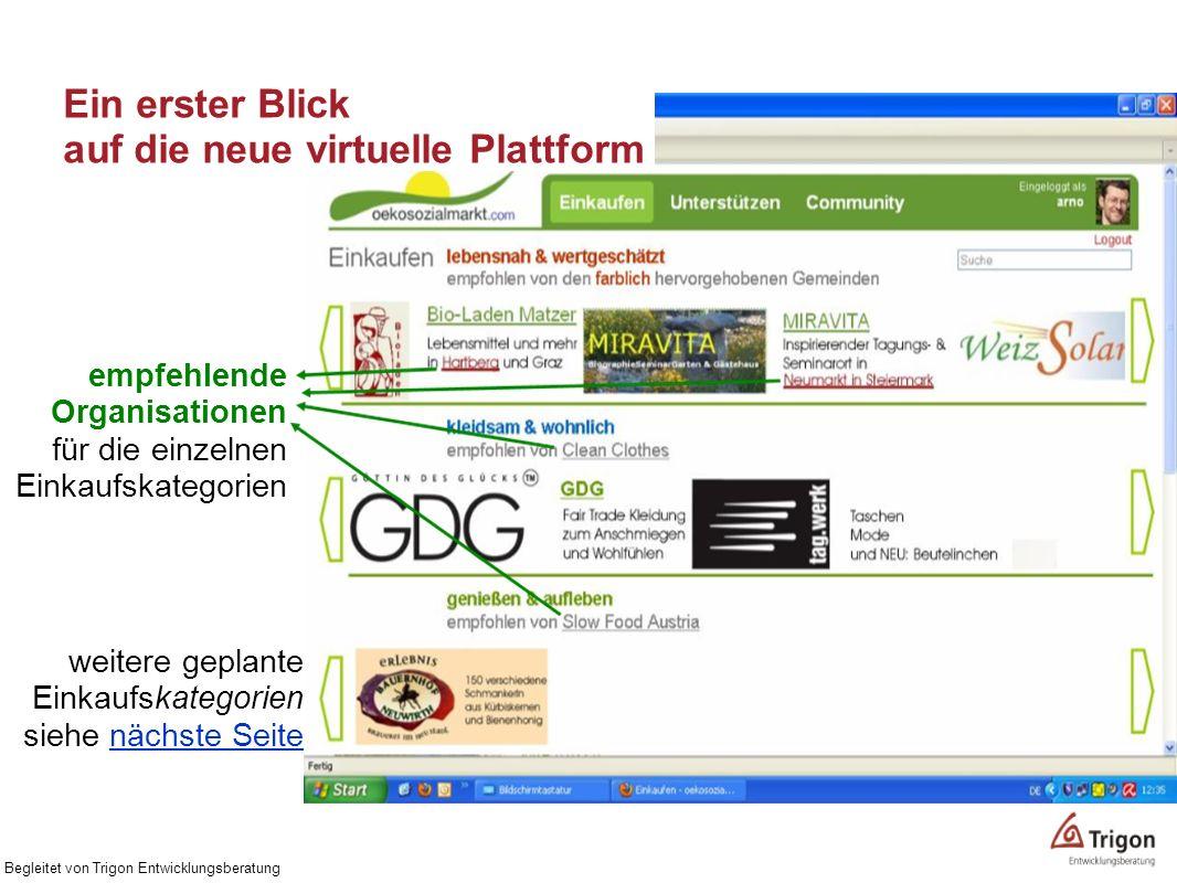 Ein erster Blick auf die neue virtuelle Plattform