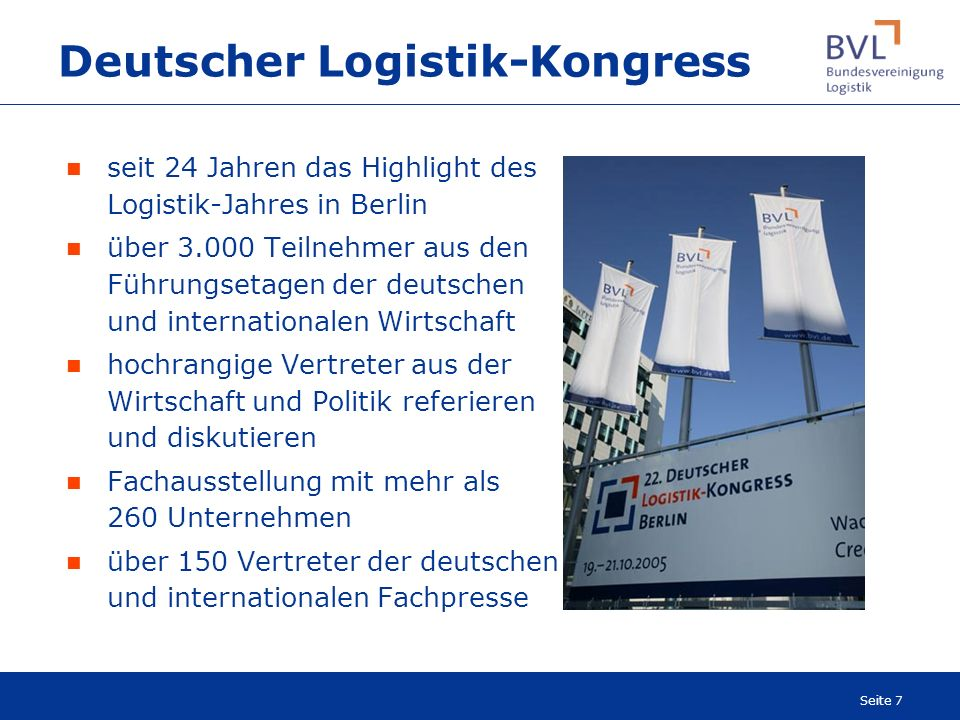Deutscher Logistik-Kongress