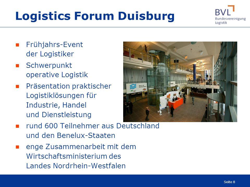 Logistics Forum Duisburg