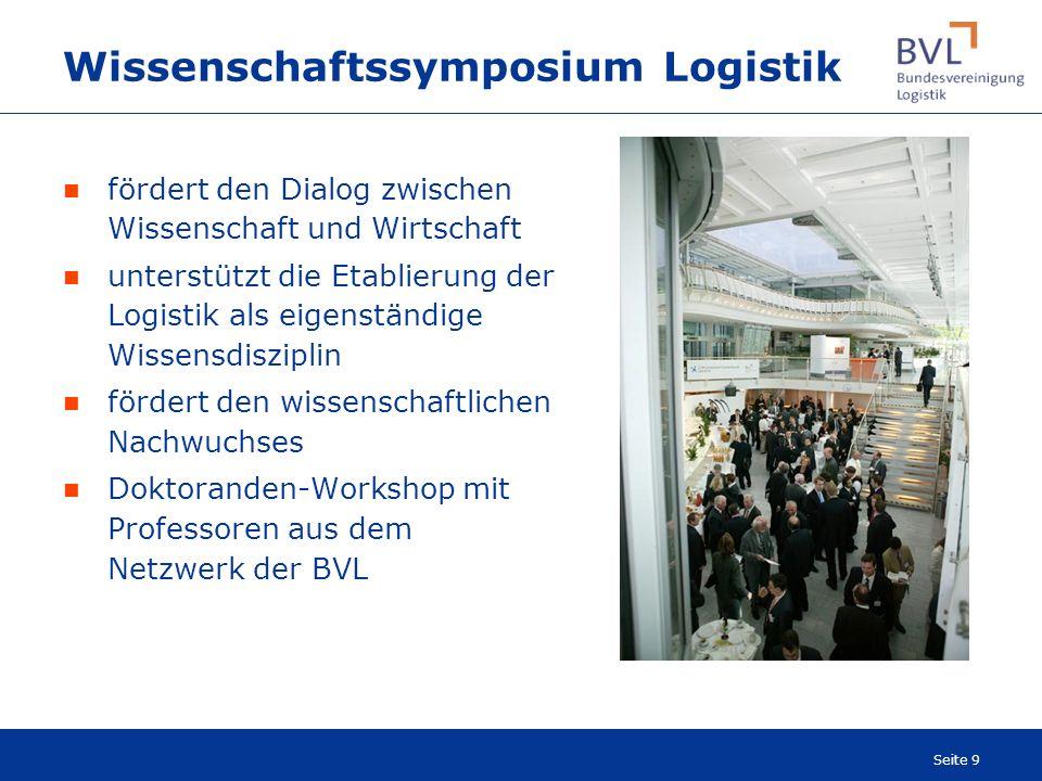 Wissenschaftssymposium Logistik
