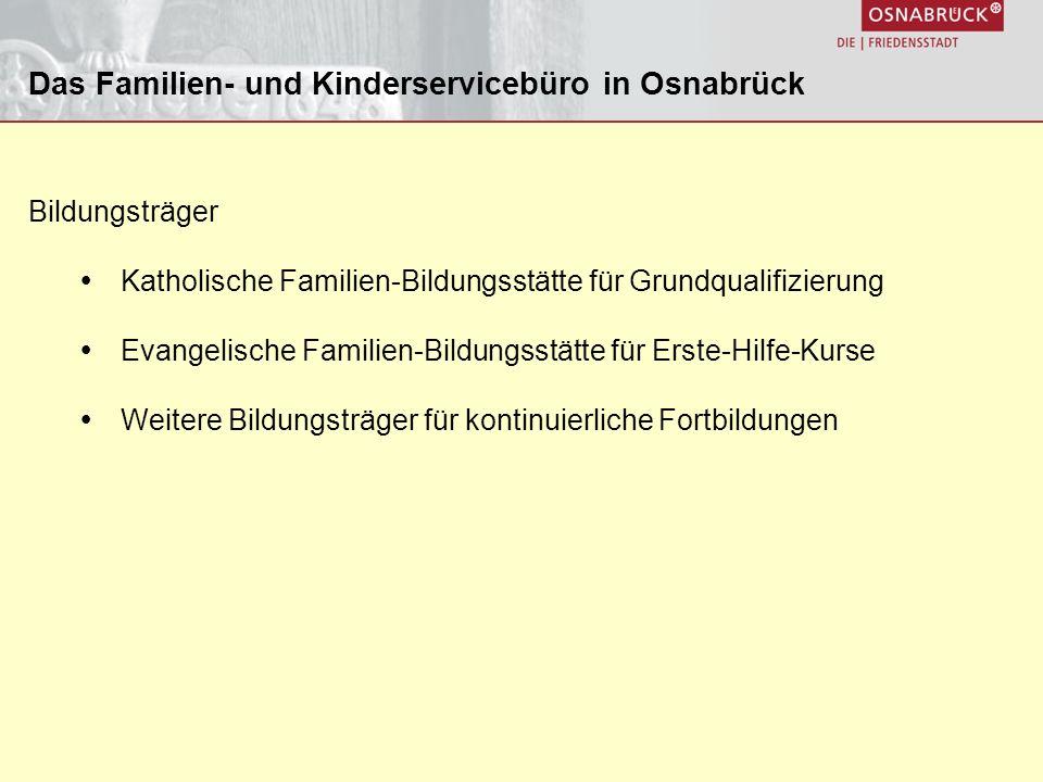 Das Familien- und Kinderservicebüro in Osnabrück