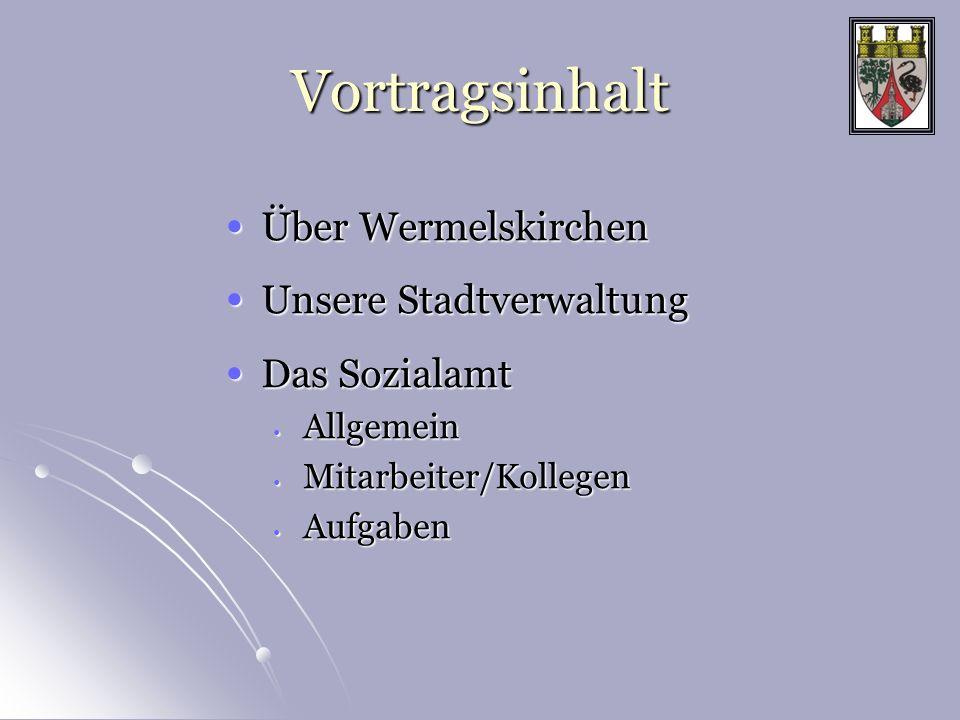Vortragsinhalt Über Wermelskirchen Unsere Stadtverwaltung