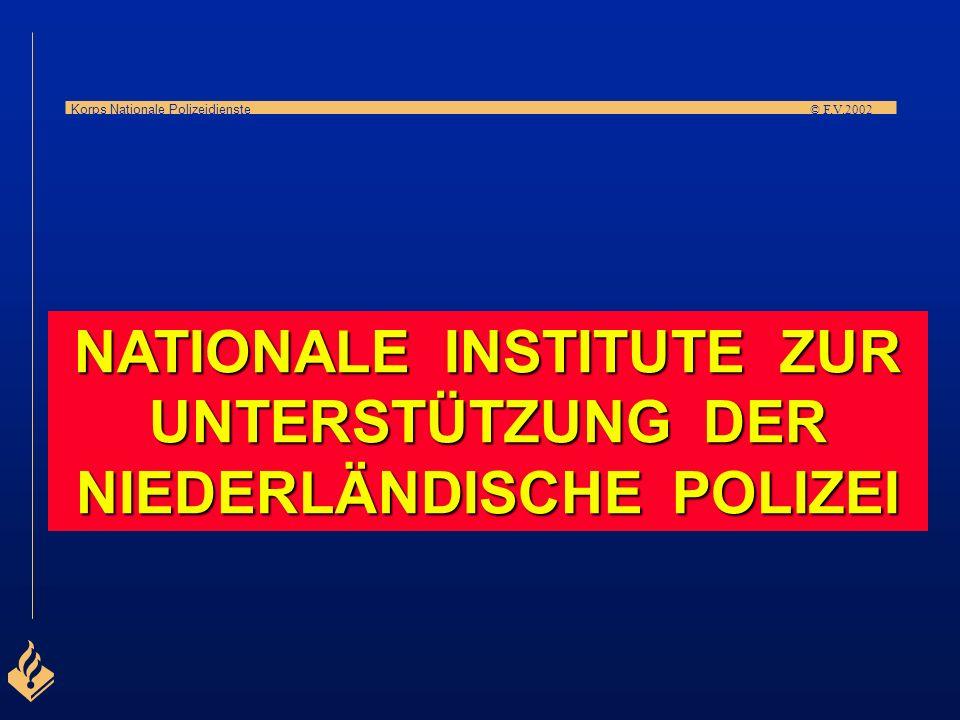 NATIONALE INSTITUTE ZUR UNTERSTÜTZUNG DER NIEDERLÄNDISCHE POLIZEI