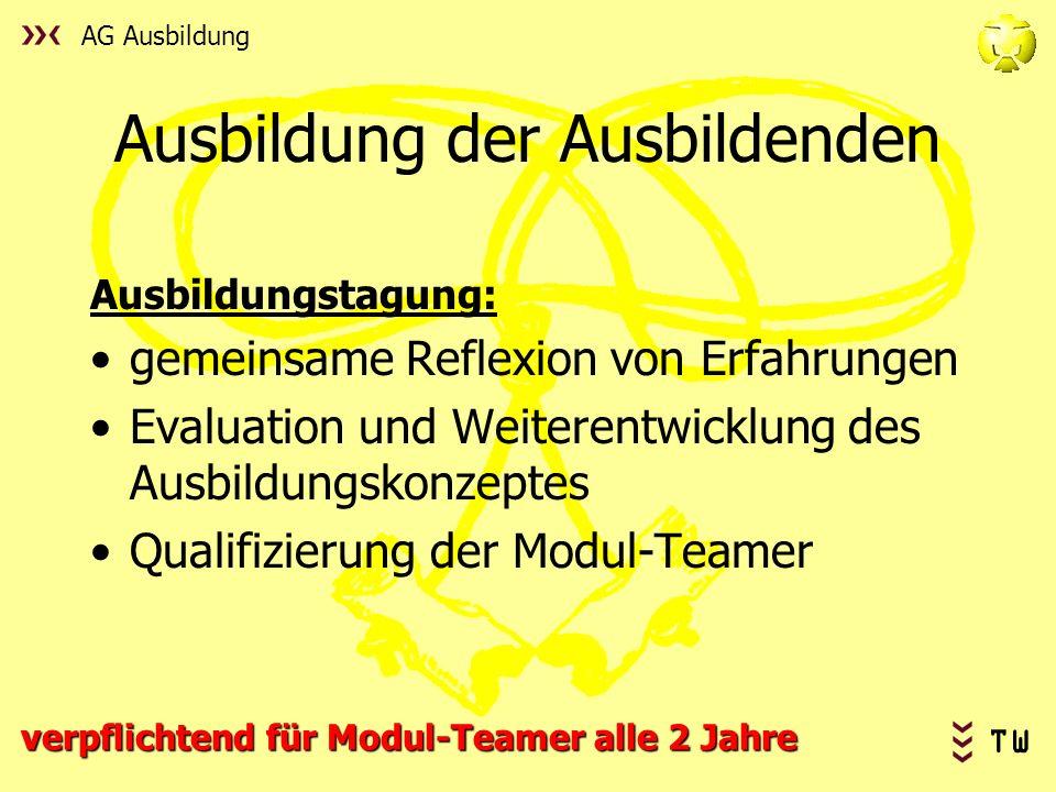 Ausbildung der Ausbildenden