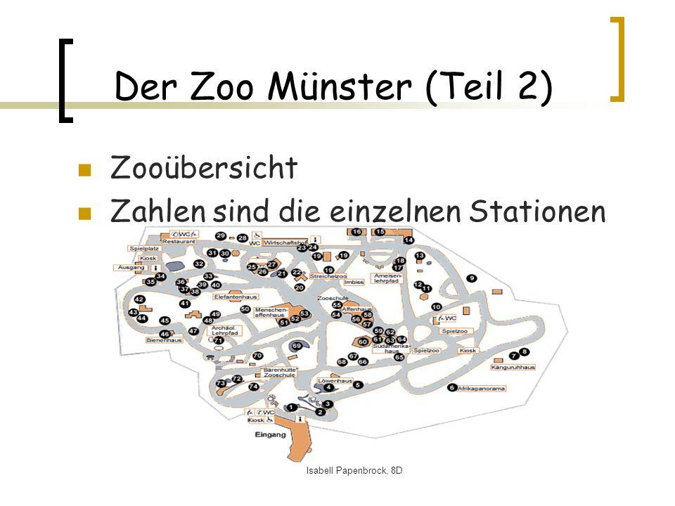 Der Zoo Münster (Teil 2) Zooübersicht