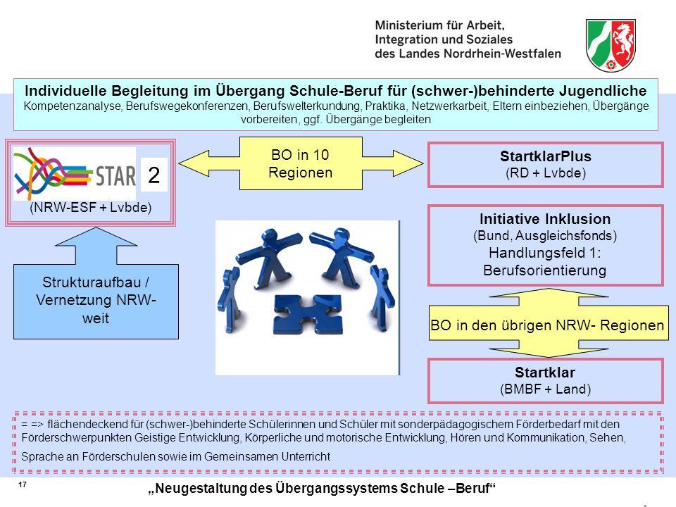 Individuelle Begleitung im Übergang Schule-Beruf für (schwer-)behinderte Jugendliche