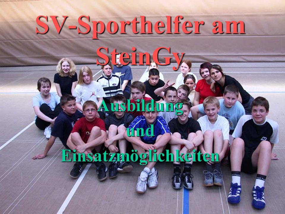 SV-Sporthelfer am SteinGy