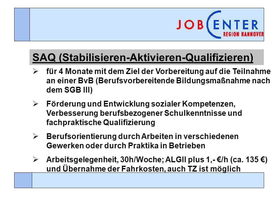 SAQ (Stabilisieren-Aktivieren-Qualifizieren)