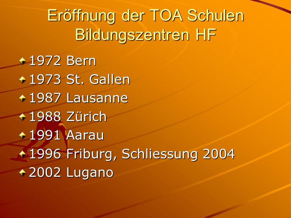 Eröffnung der TOA Schulen Bildungszentren HF