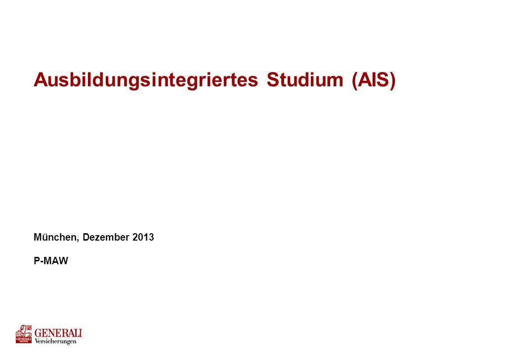 Agenda Struktur und zeitlicher Ablauf des AIS-Programms
