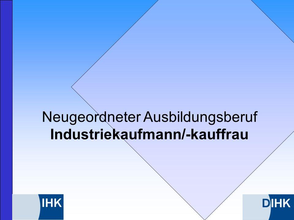 Industriekaufmann/-kauffrau