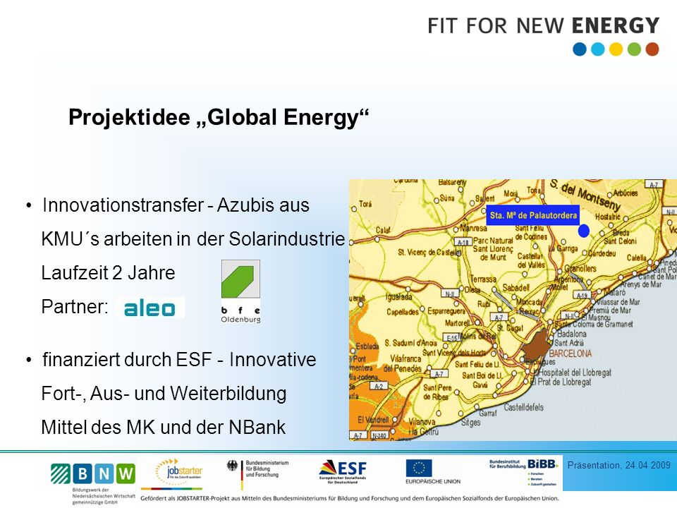 "Projektidee ""Global Energy"