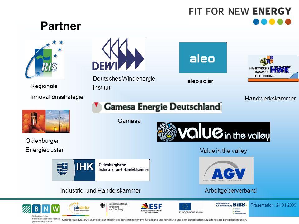 Partner Deutsches Windenergie Institut aleo solar