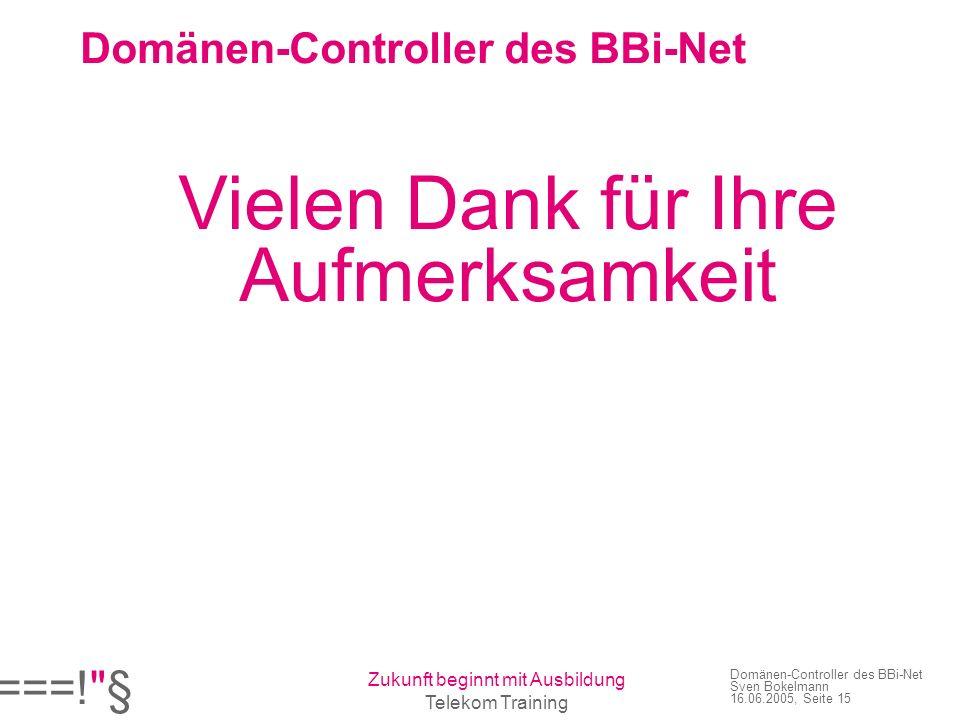 Domänen-Controller des BBi-Net