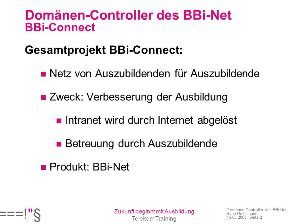 Domänen-Controller des BBi-Net BBi-Connect