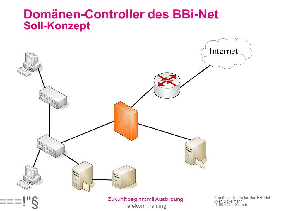 Domänen-Controller des BBi-Net Soll-Konzept