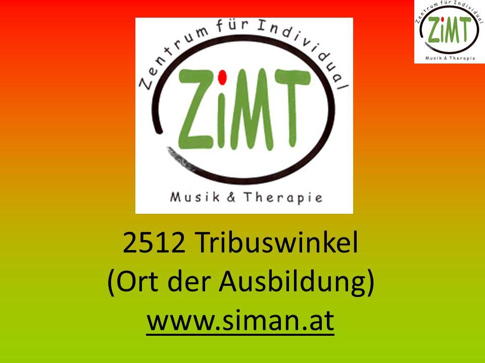 2512 Tribuswinkel (Ort der Ausbildung) www.siman.at