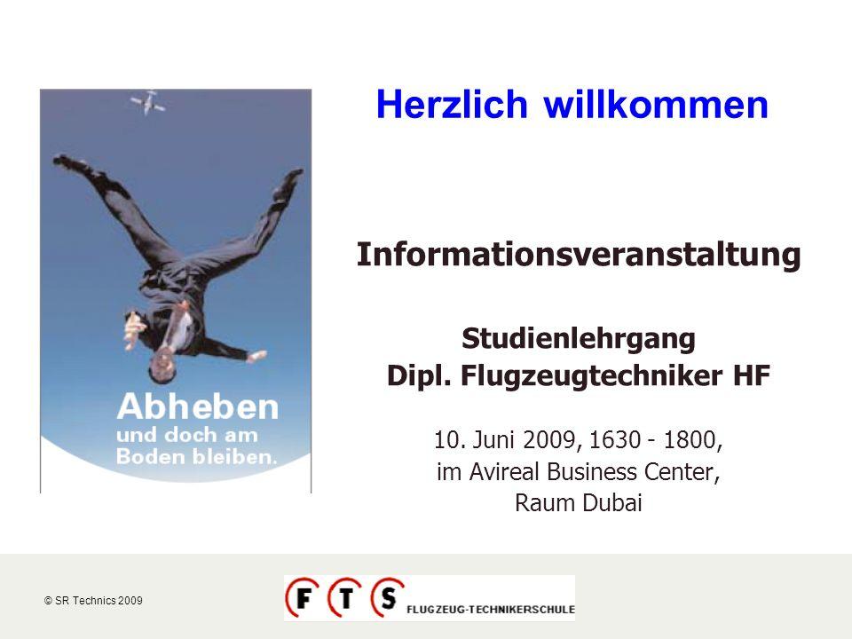 Informationsveranstaltung Dipl. Flugzeugtechniker HF