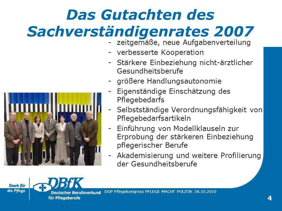 Das Gutachten des Sachverständigenrates 2007