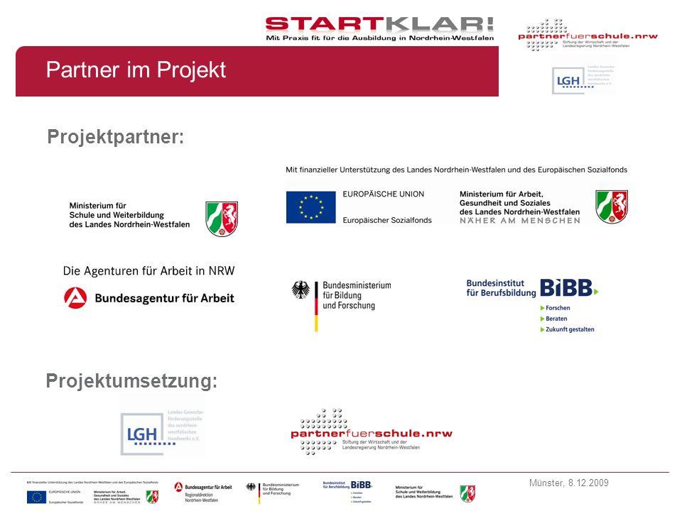 Partner im Projekt Projektpartner: Projektumsetzung: