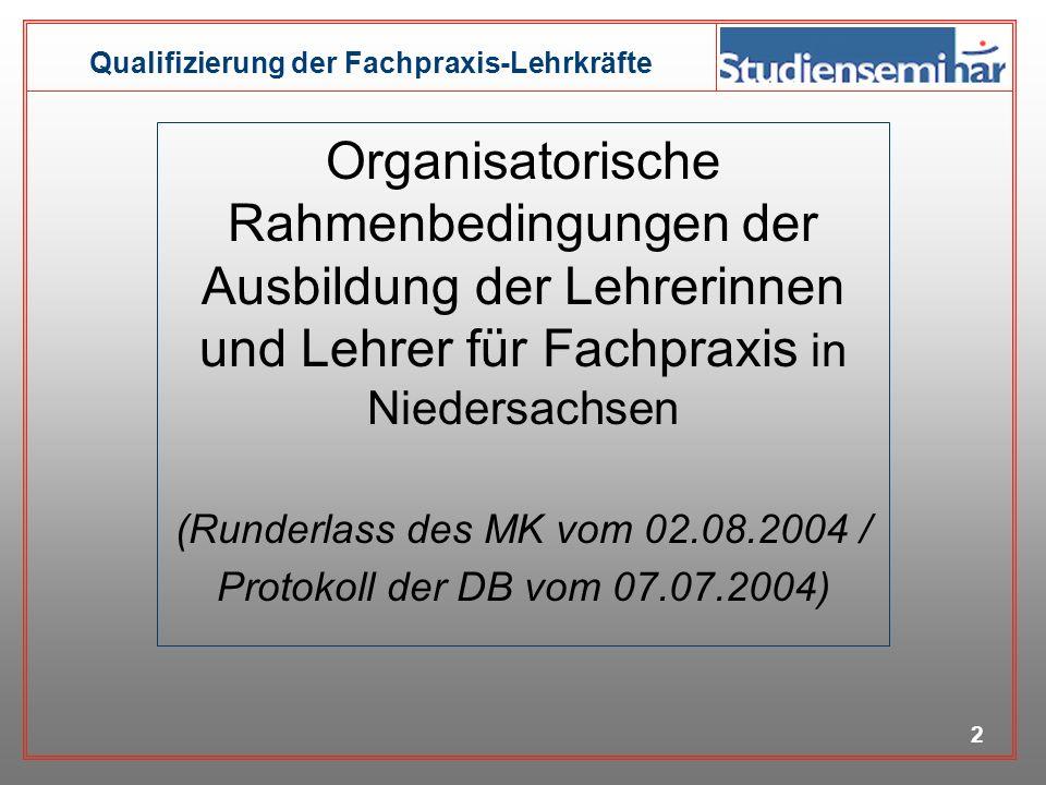 (Runderlass des MK vom 02.08.2004 /