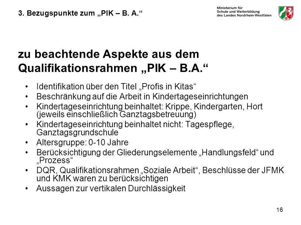 "Identifikation über den Titel ""Profis in Kitas"