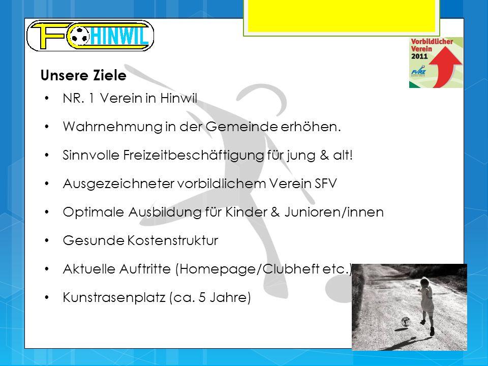 Unsere Ziele NR. 1 Verein in Hinwil