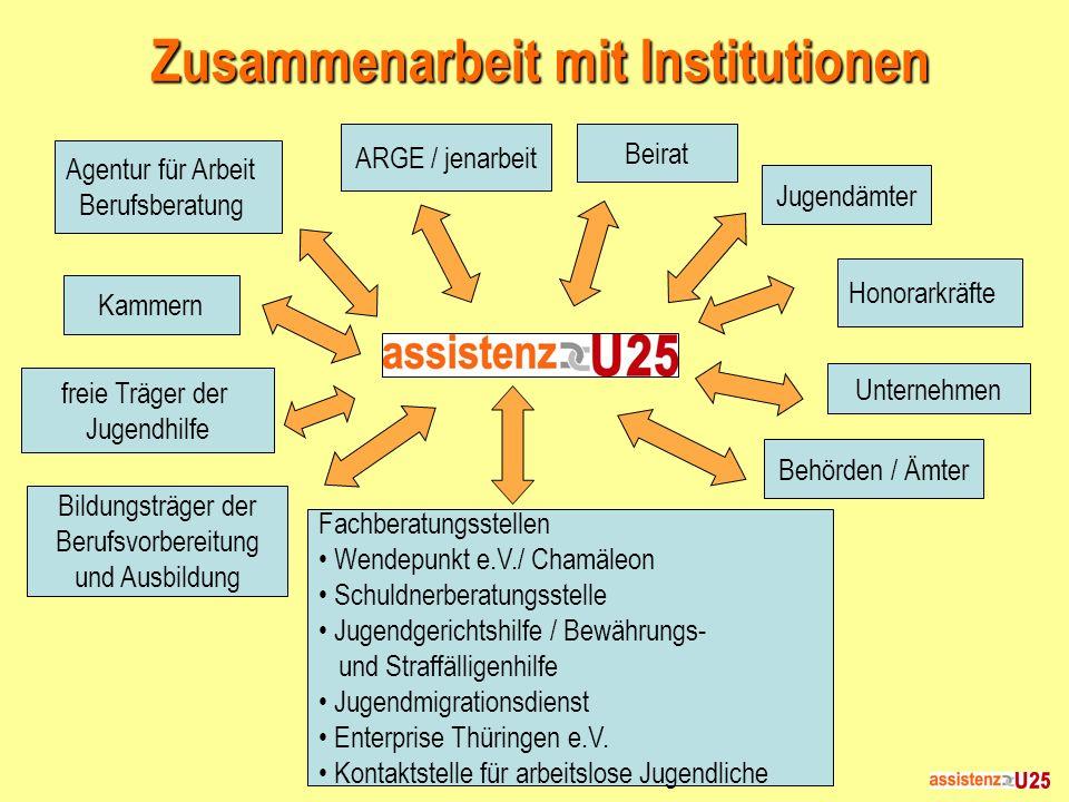 Zusammenarbeit mit Institutionen