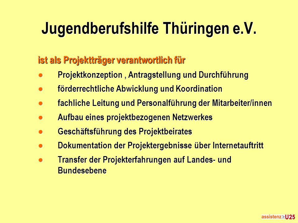 Jugendberufshilfe Thüringen e.V.