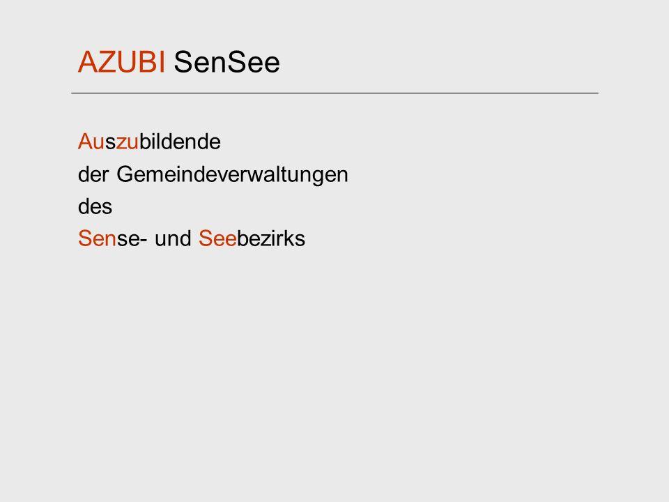 AZUBI SenSee Auszubildende der Gemeindeverwaltungen des