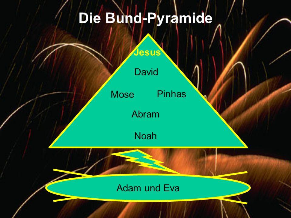 Die Bund-Pyramide Jesus David Mose Pinhas Abram Noah Adam und Eva
