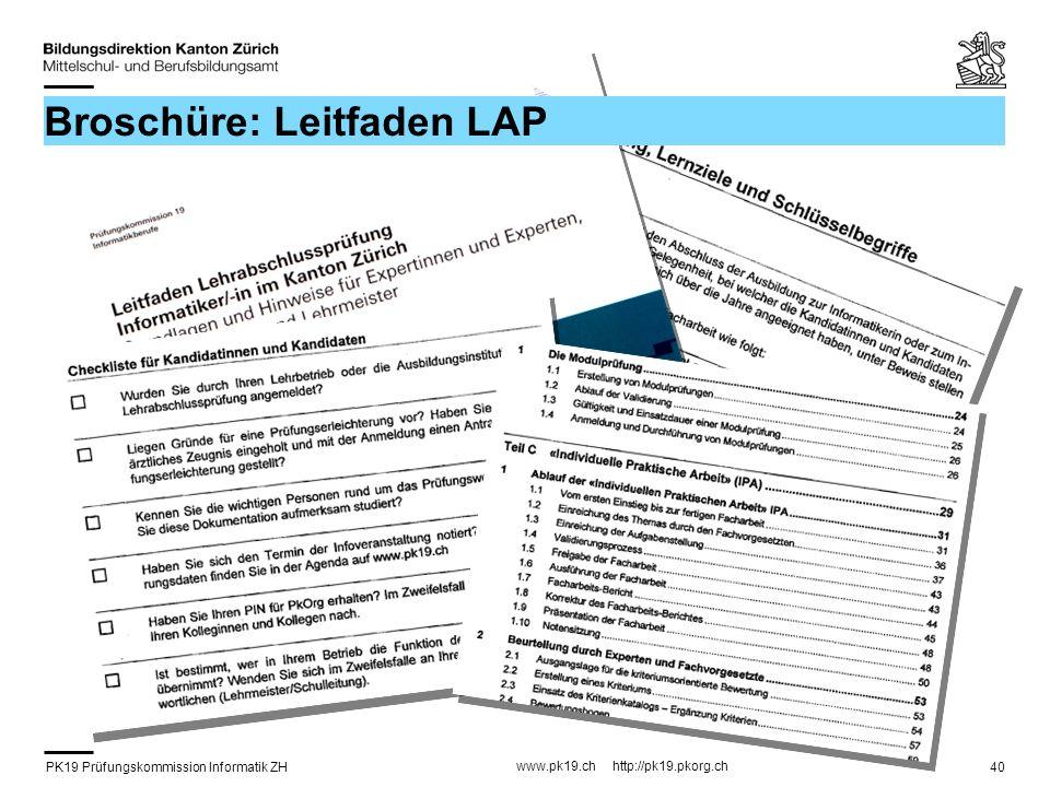 Broschüre: Leitfaden LAP