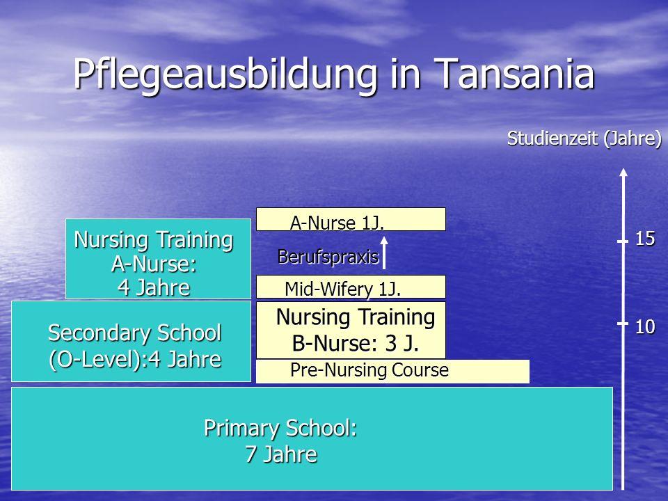 Pflegeausbildung in Tansania