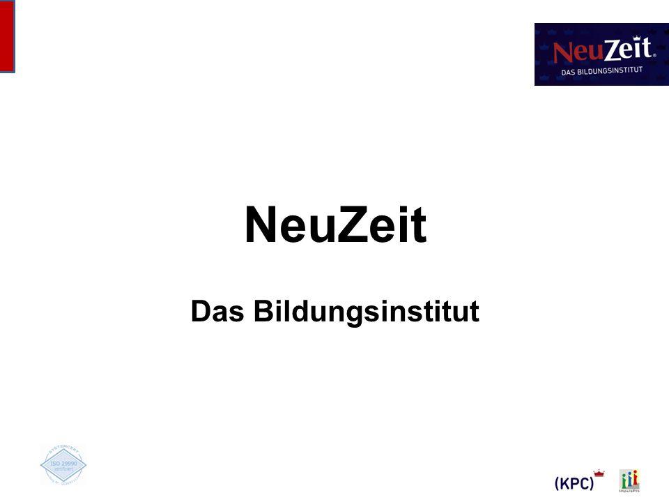 NeuZeit Das Bildungsinstitut Titelblatt NeuZeit