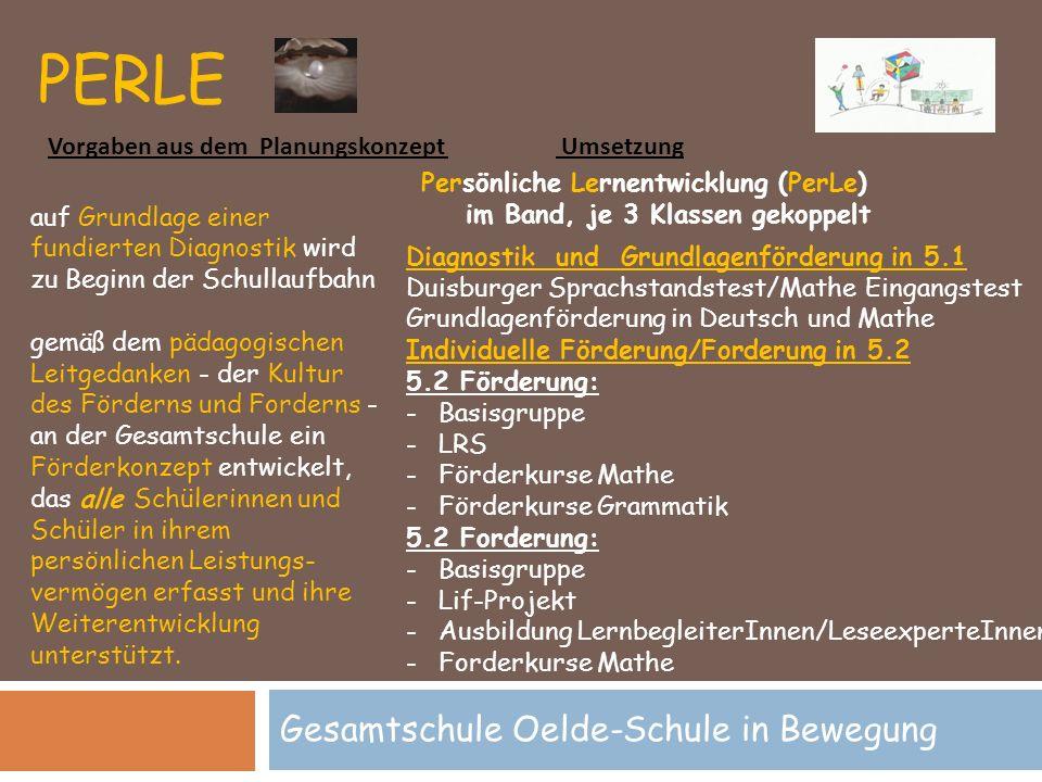Gesamtschule Oelde-Schule in Bewegung