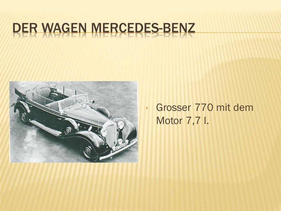 DER WAGEN MERCEDES-BENZ