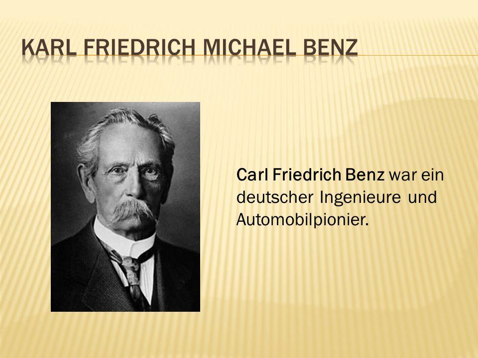 Karl Friedrich Michael Benz