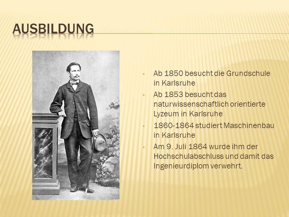 AUSBILDUNG Ab 1850 besucht die Grundschule in Karlsruhe
