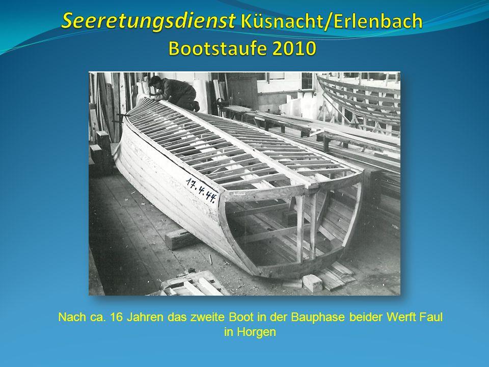 Seeretungsdienst Küsnacht/Erlenbach Bootstaufe 2010