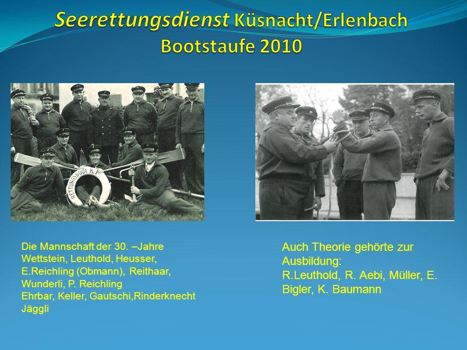 Seerettungsdienst Küsnacht/Erlenbach Bootstaufe 2010