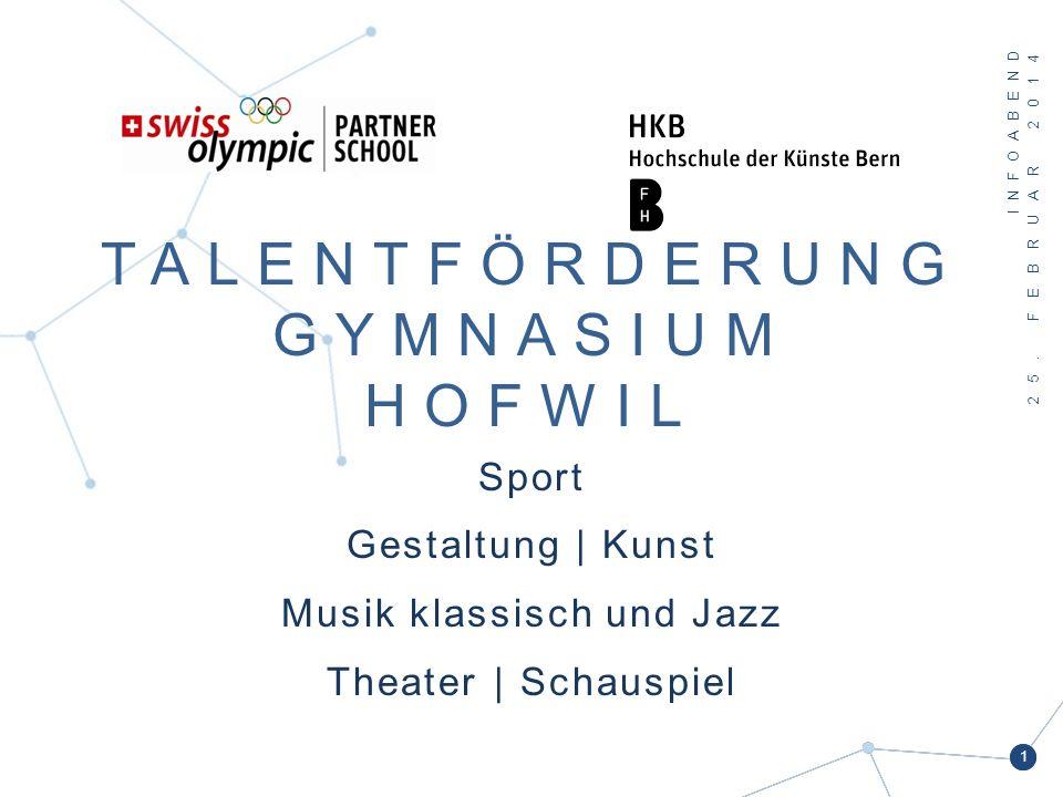 Talentförderung Gym Hofwil