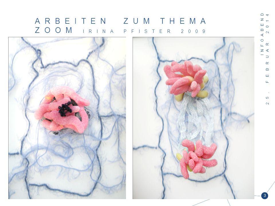 Arbeiten zum Thema Zoom Irina Pfister 2009