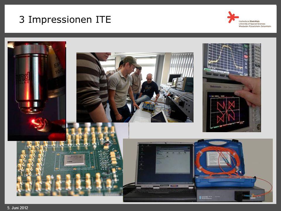 3 Impressionen ITE 4. IT Praktikum (ITE) 5. Juni 2012