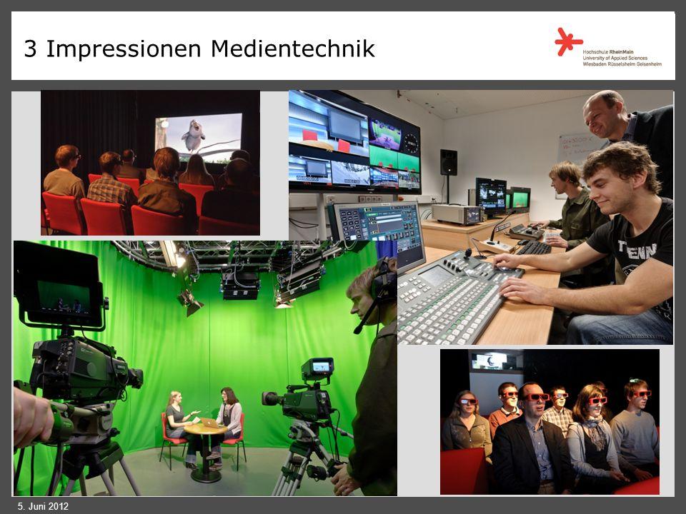 3 Impressionen Medientechnik