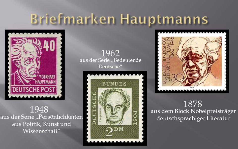 Briefmarken Hauptmanns