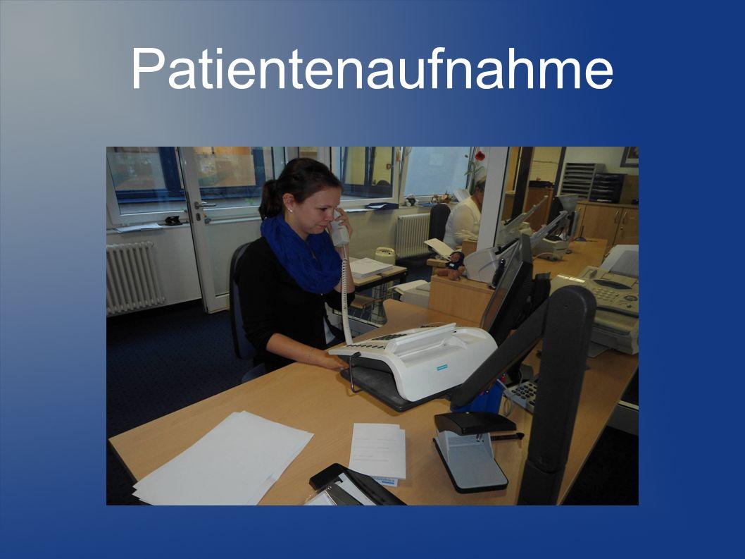 Patientenaufnahme