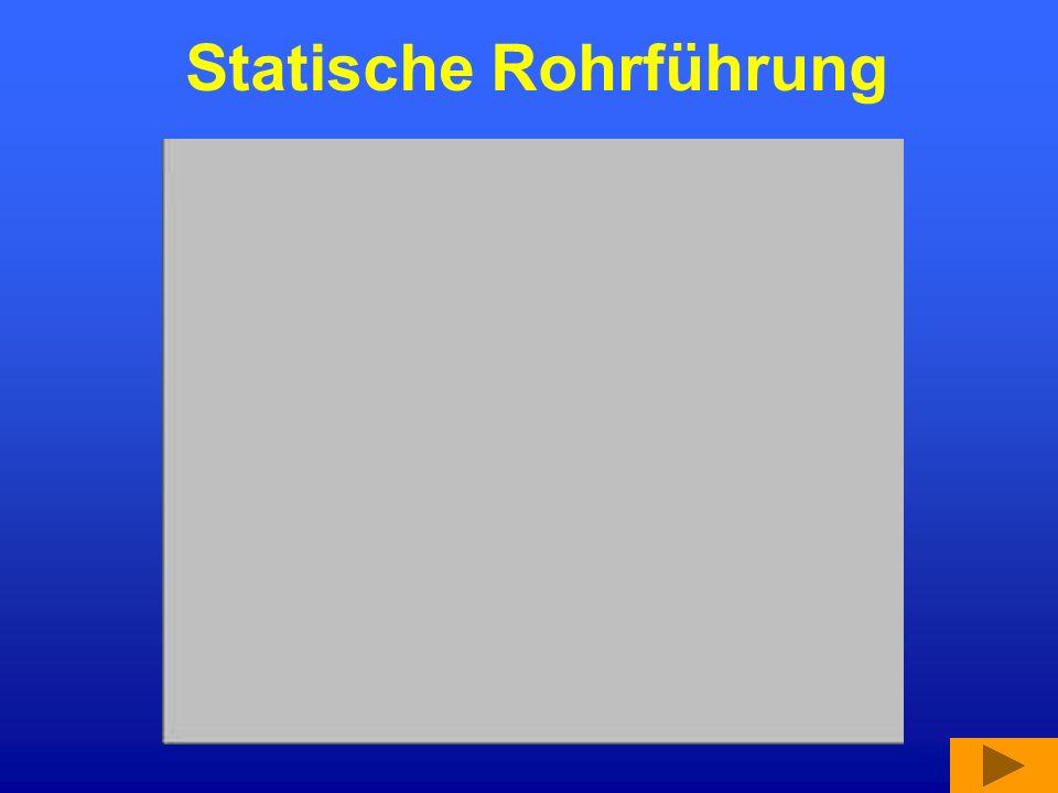 Statische Rohrführung